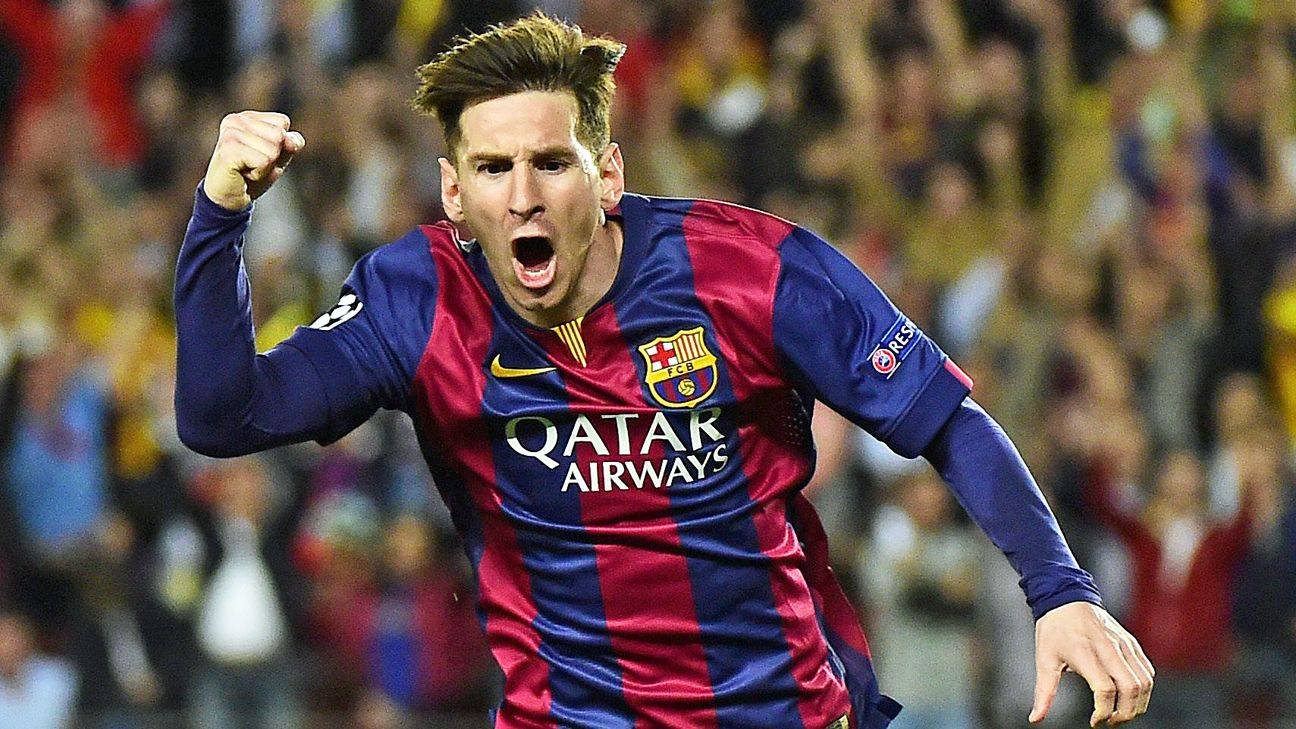 A year after going trophy-less, Lionel Messi and Barcelona are starting to load up on silverware in 2014-15.