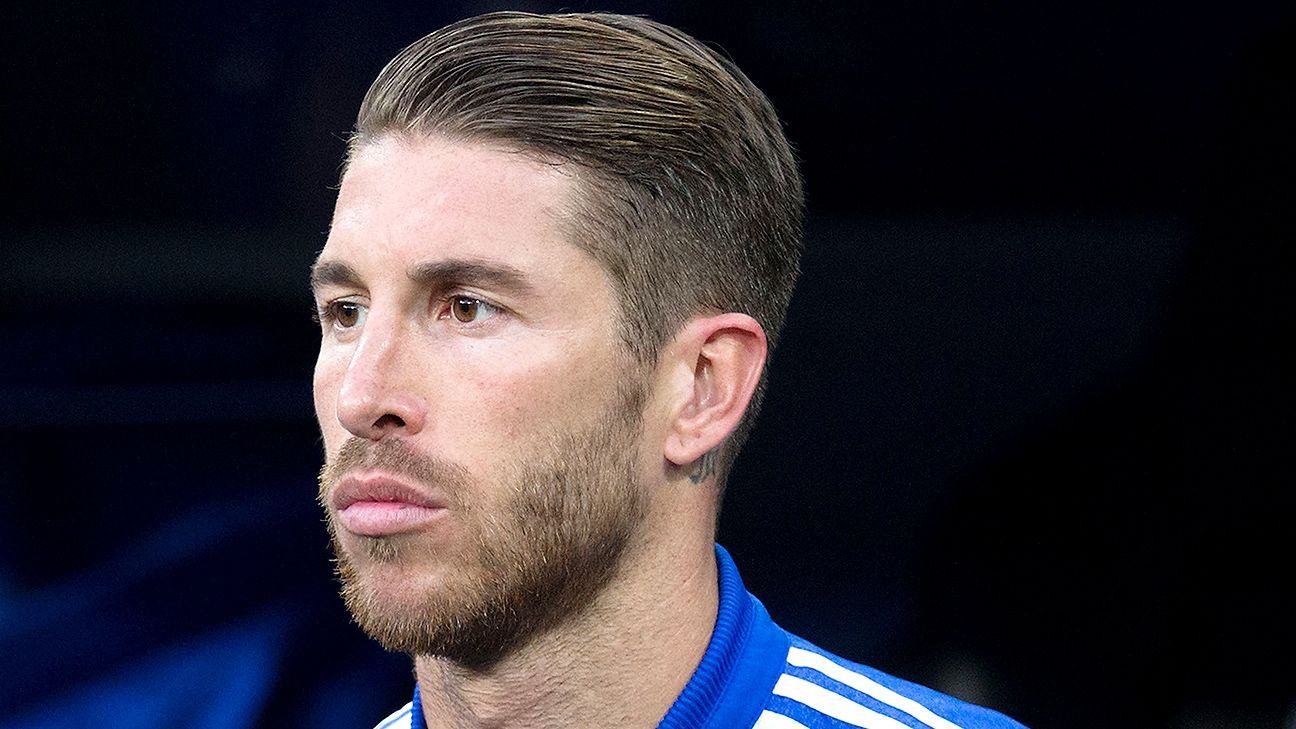 Real Madrid's Sergio Ramos sidelined by calf muscle injury ...