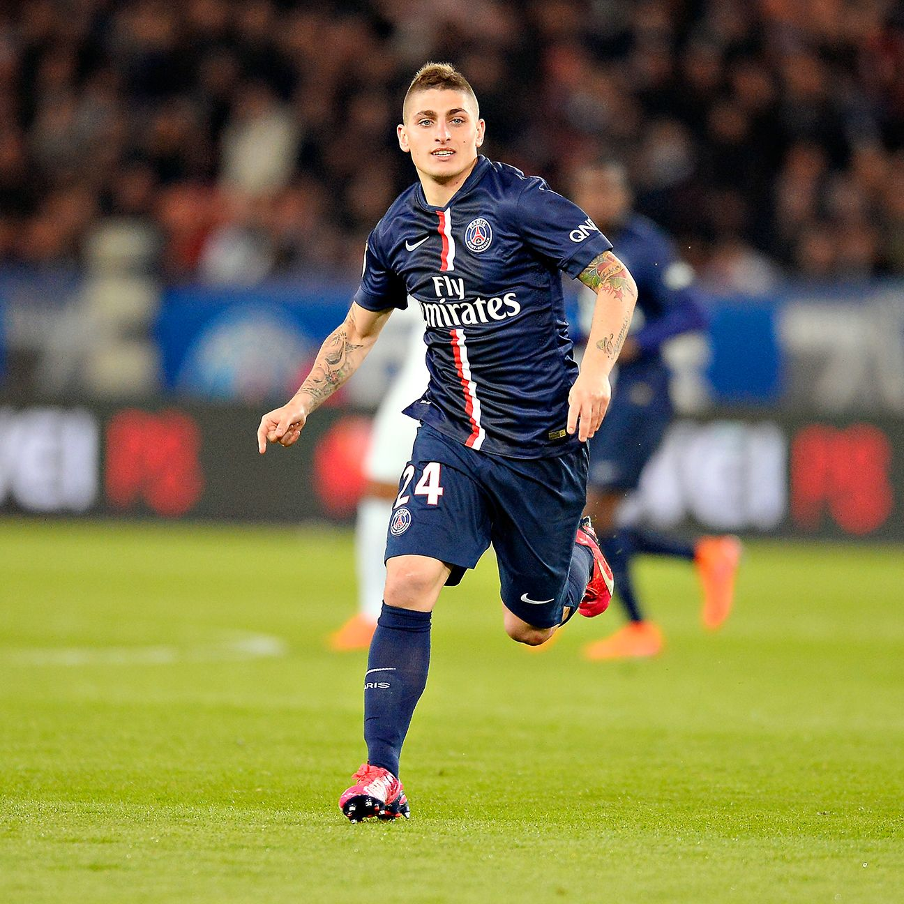 Injuries have limited Marco Verratti to just 13 matches in all competitions this season for PSG.