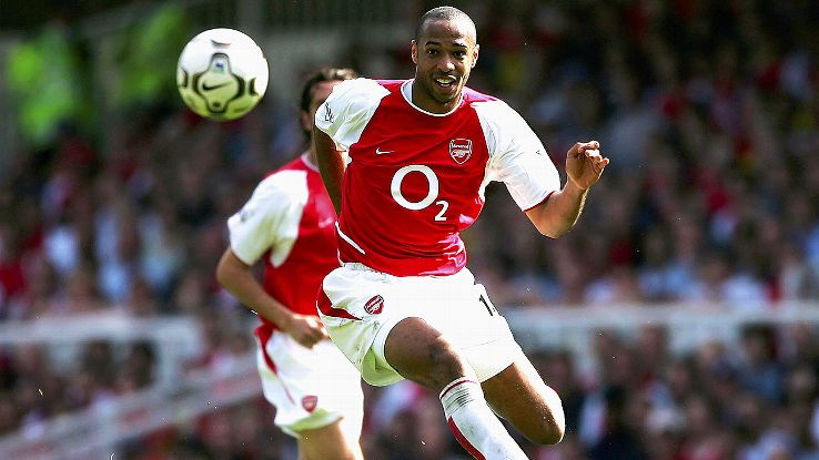 Thierry Henry and Arsenal never experienced defeat during their 2003-04 Premier League campaign.