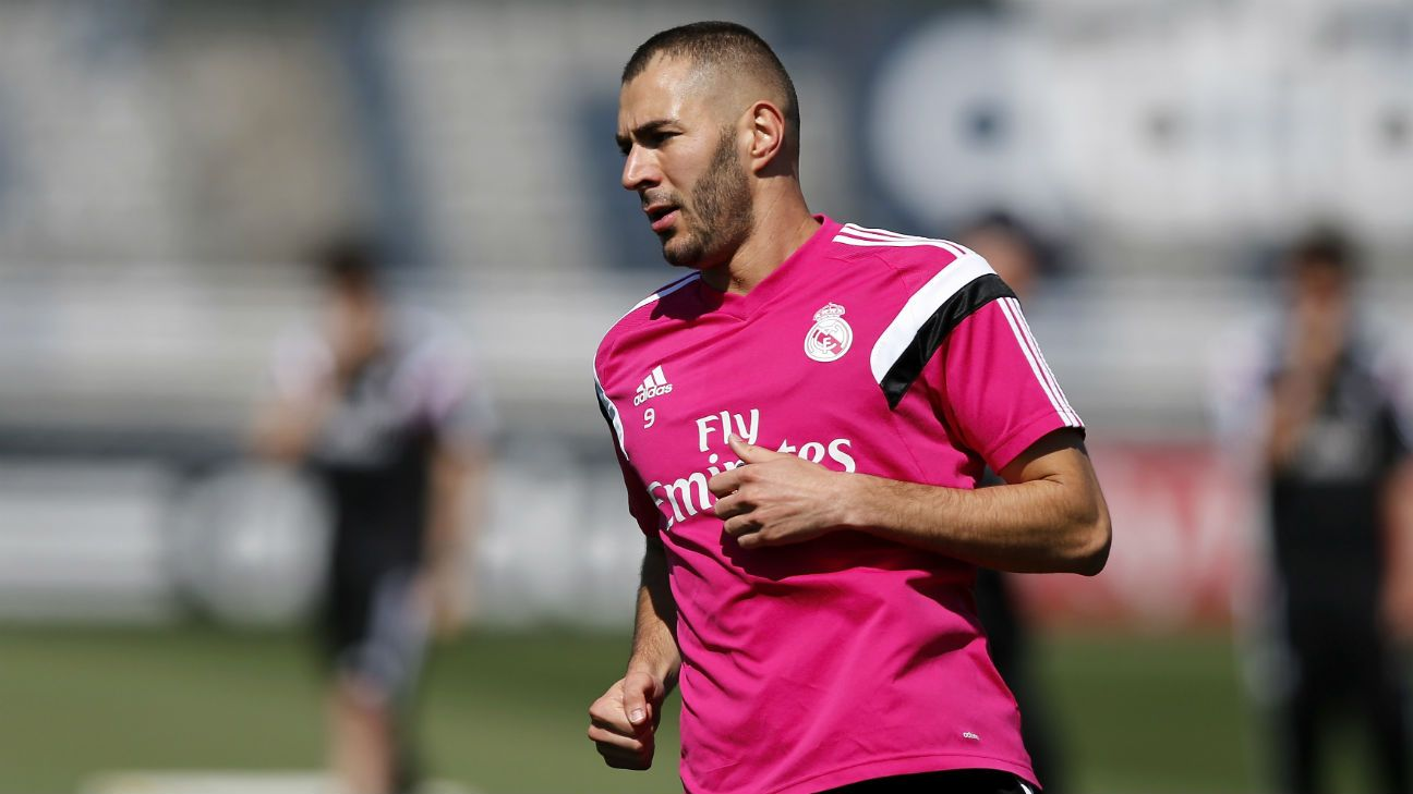 Karim Benzema named in Real Madrid squad for Valencia game