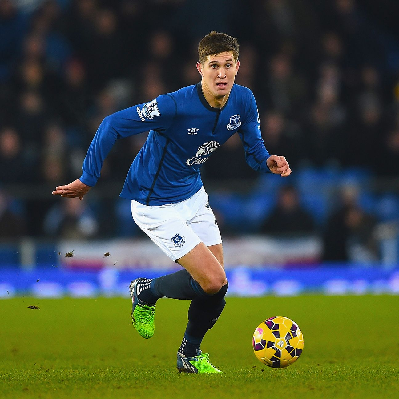 John Stones started 23 Premier League matches for Everton in 2014-15.