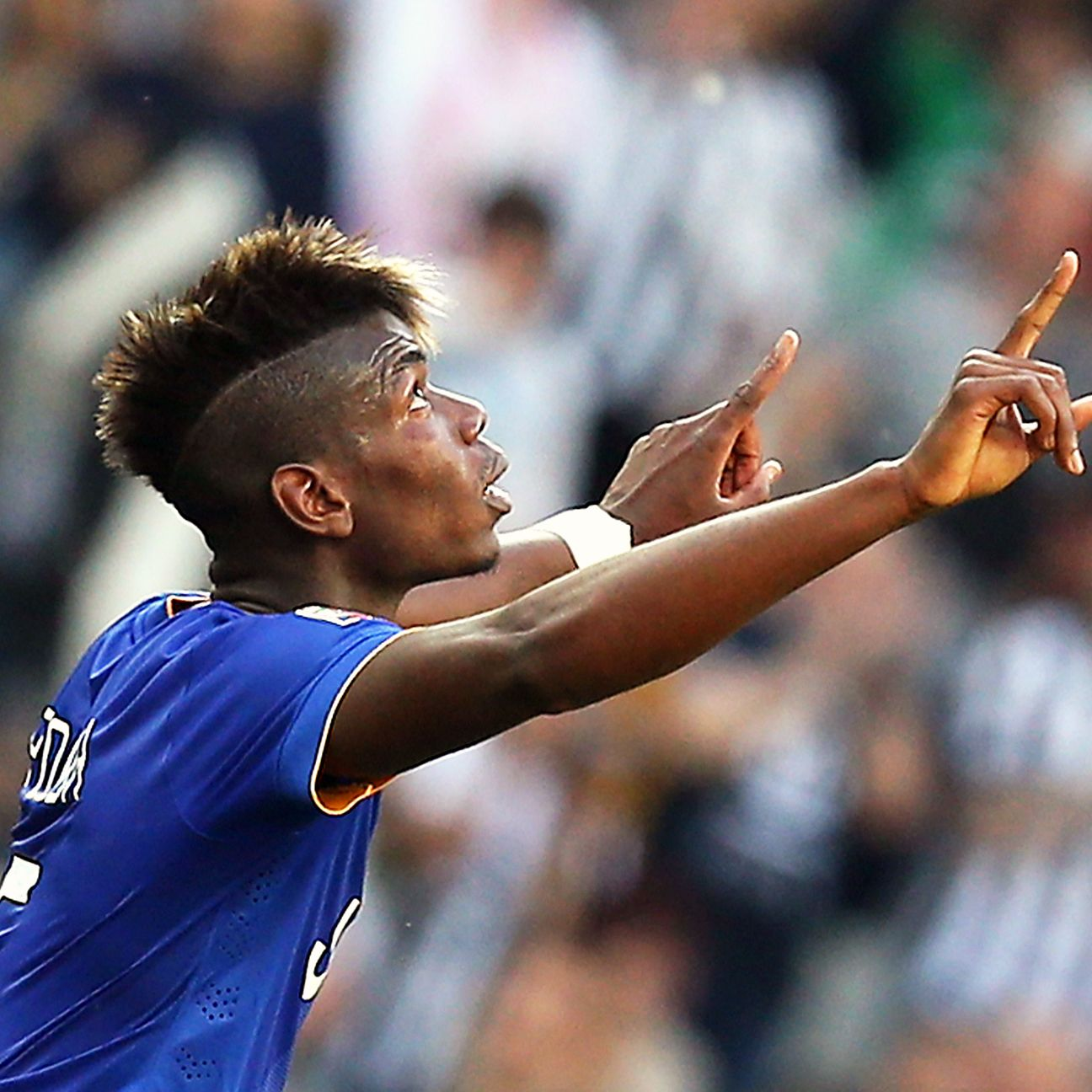 Paul Pogba made an auspicious return from injury with a goal in Juve's 1-1 draw with Cagliari.