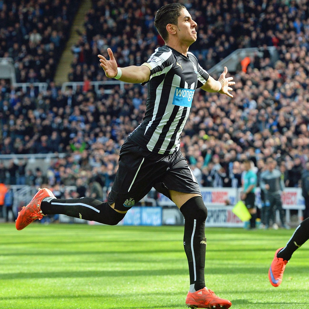 Ayoze Perez's goal helped end Newcastle's eight-match losing streak.