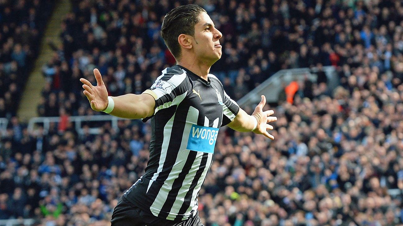 Newcastle's Ayoze Perez might make for a nice addition up top for Tottenham.