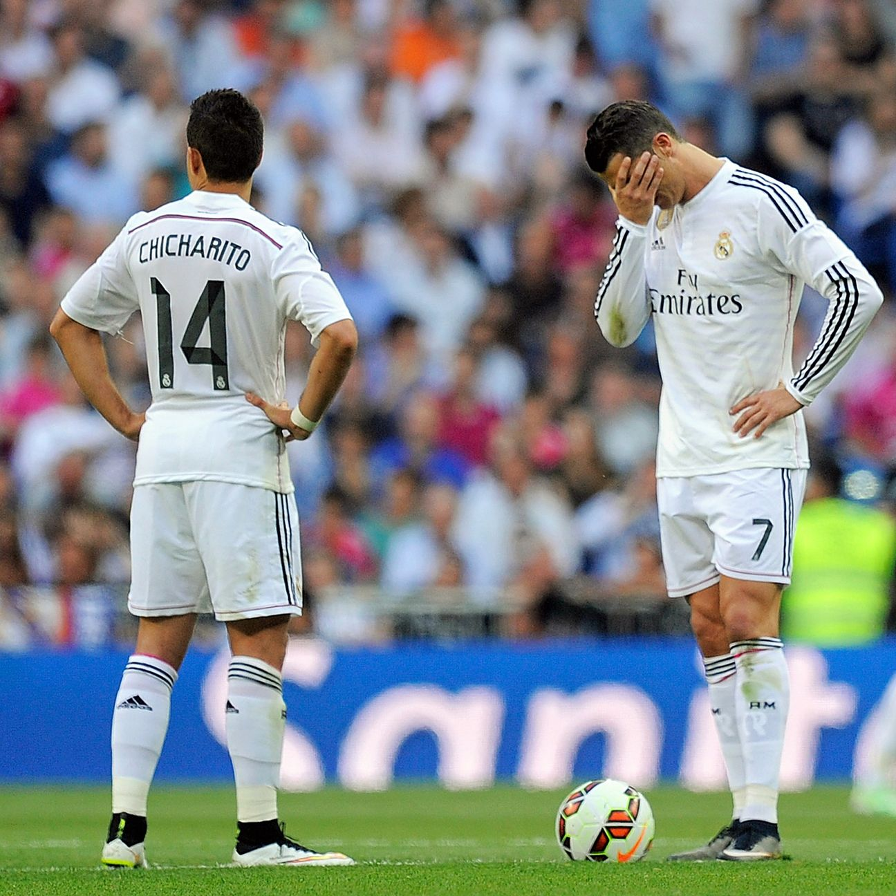 Real Madrid's league title hopes are all but over following Saturday's 2-2 draw with Valencia.