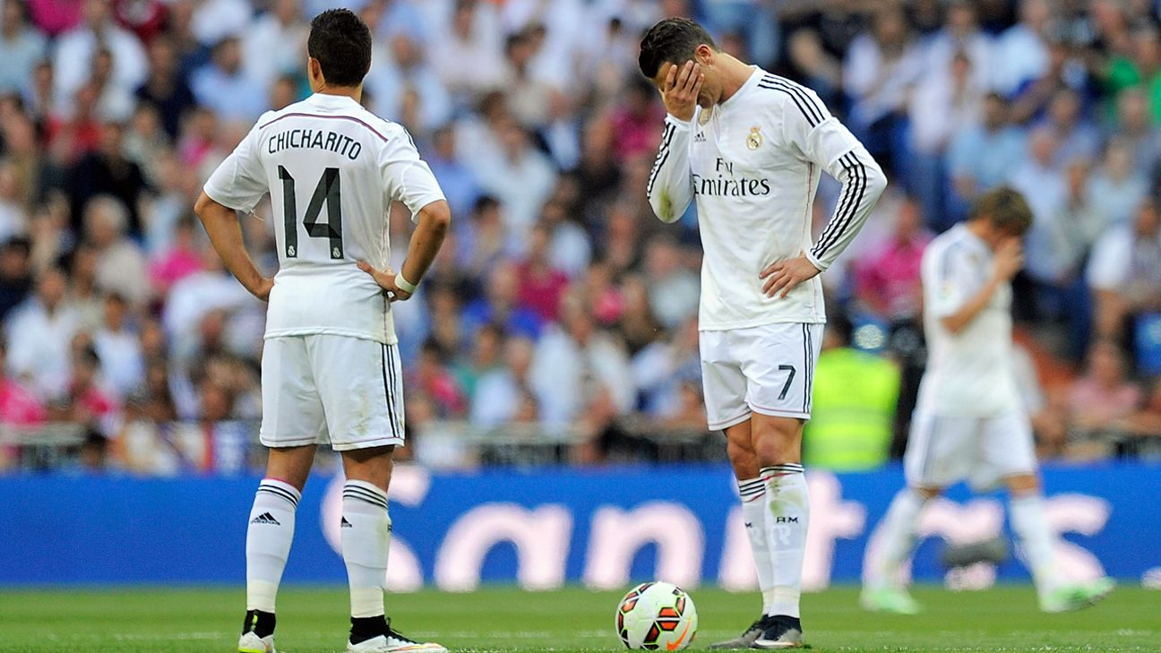 Poor first half condemns Real Madrid to title-losing draw with Valencia