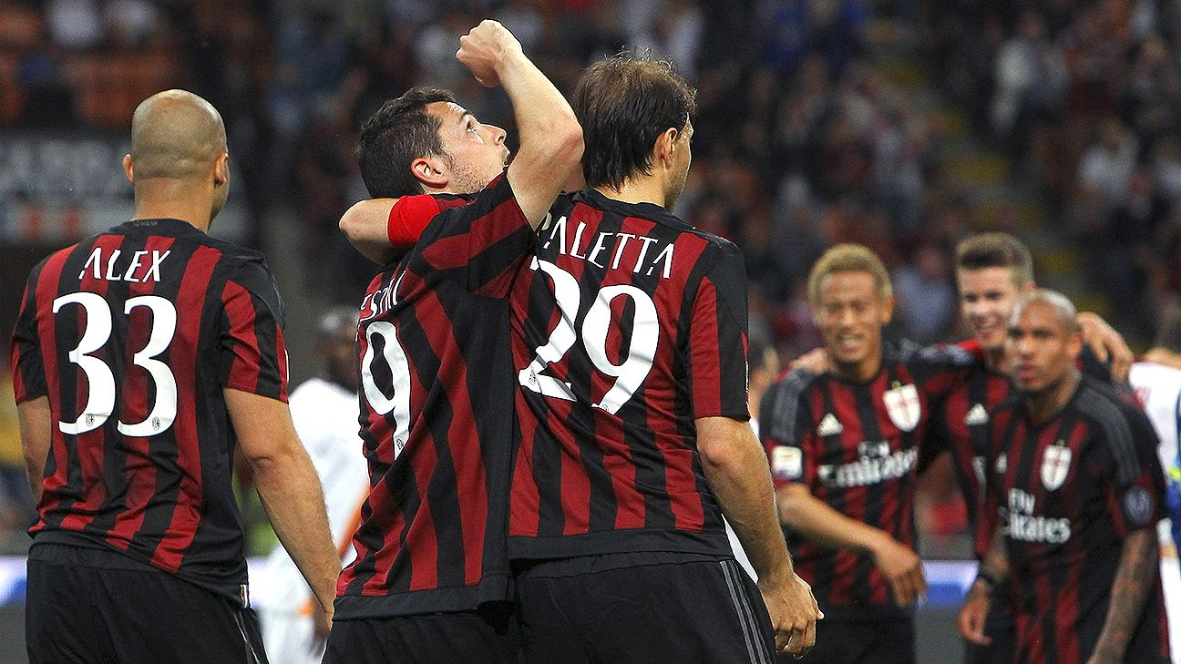 Milan snapped their five-match winless streak with Saturday's 2-1 win over Roma.