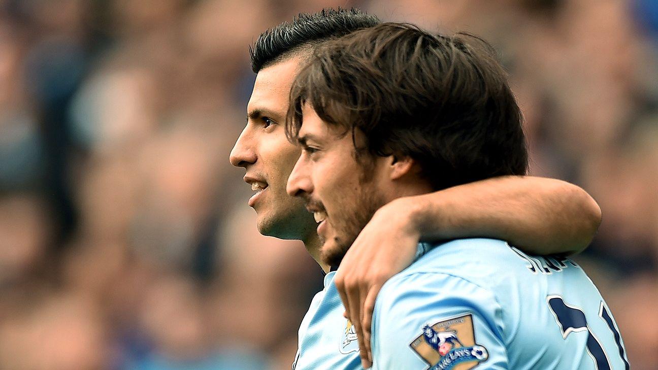 Transfer Talk Sergio Aguero and David Silva could make separate