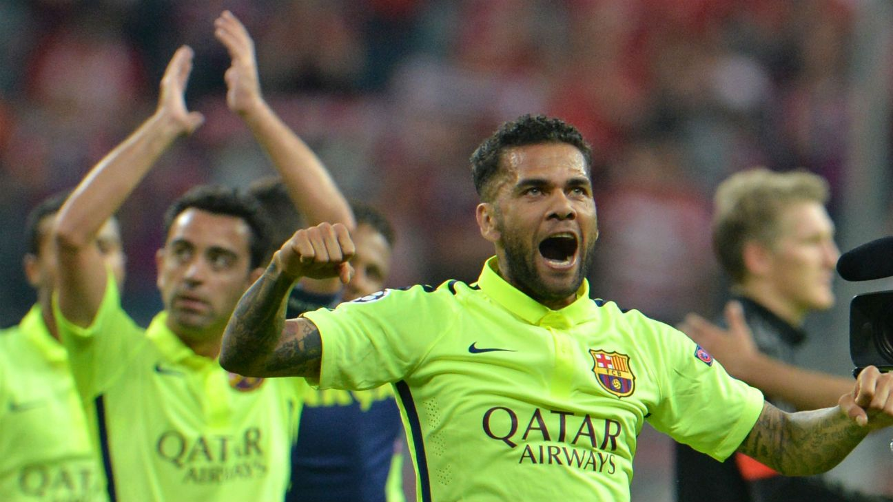 Champions League finalists Barcelona and Juventus lead the way