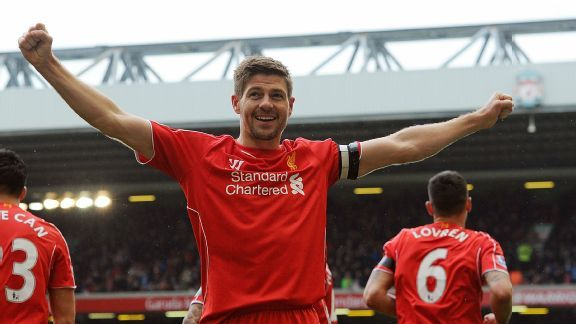 Can Liverpool get Steven Gerrard a win in his final home game?