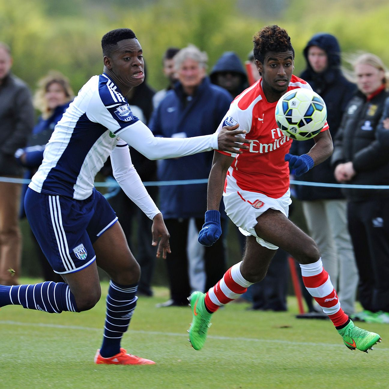 Gideon Zelalem (right) won't be counted on to shoulder a heavy load for the U.S. U-20 team.