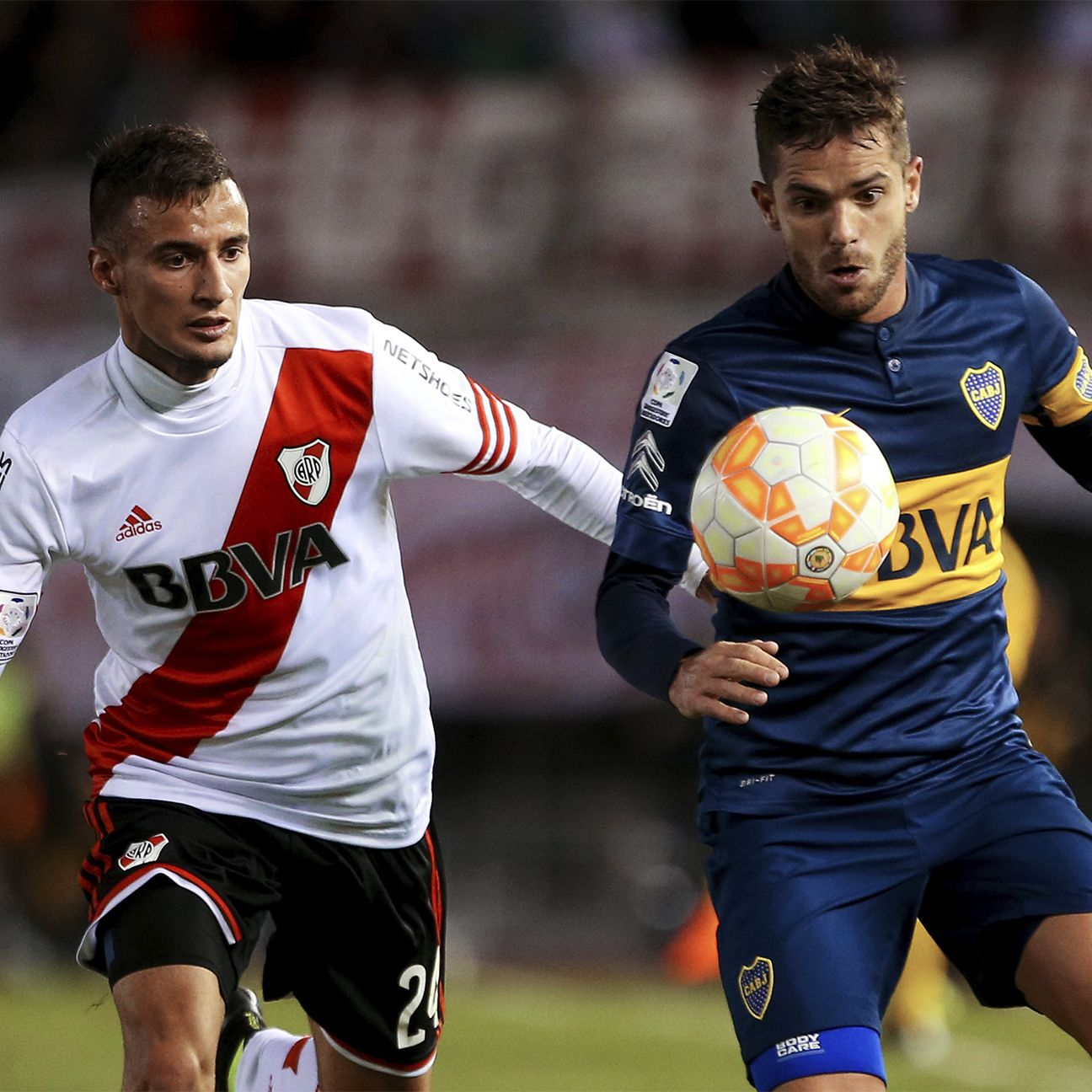 River Plate will be looking to protect their 1-0 lead over Fernando Gago's Boca Juniors in their Copa Libertadores last 16 second leg.