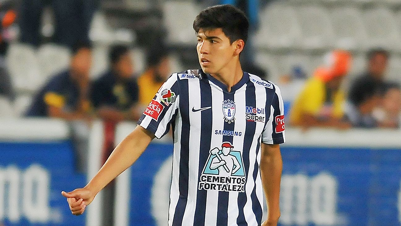 Mexico Under-20 midfielder Erick Gutierrez scored six goals in 15 games for Pachuca during the 2015 Clausura.