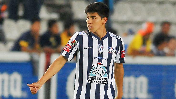 Mexico Under-20 midfielder Erick Gutierrez scored six goals in 15 games for Pachuca during the 2015 Clausura.