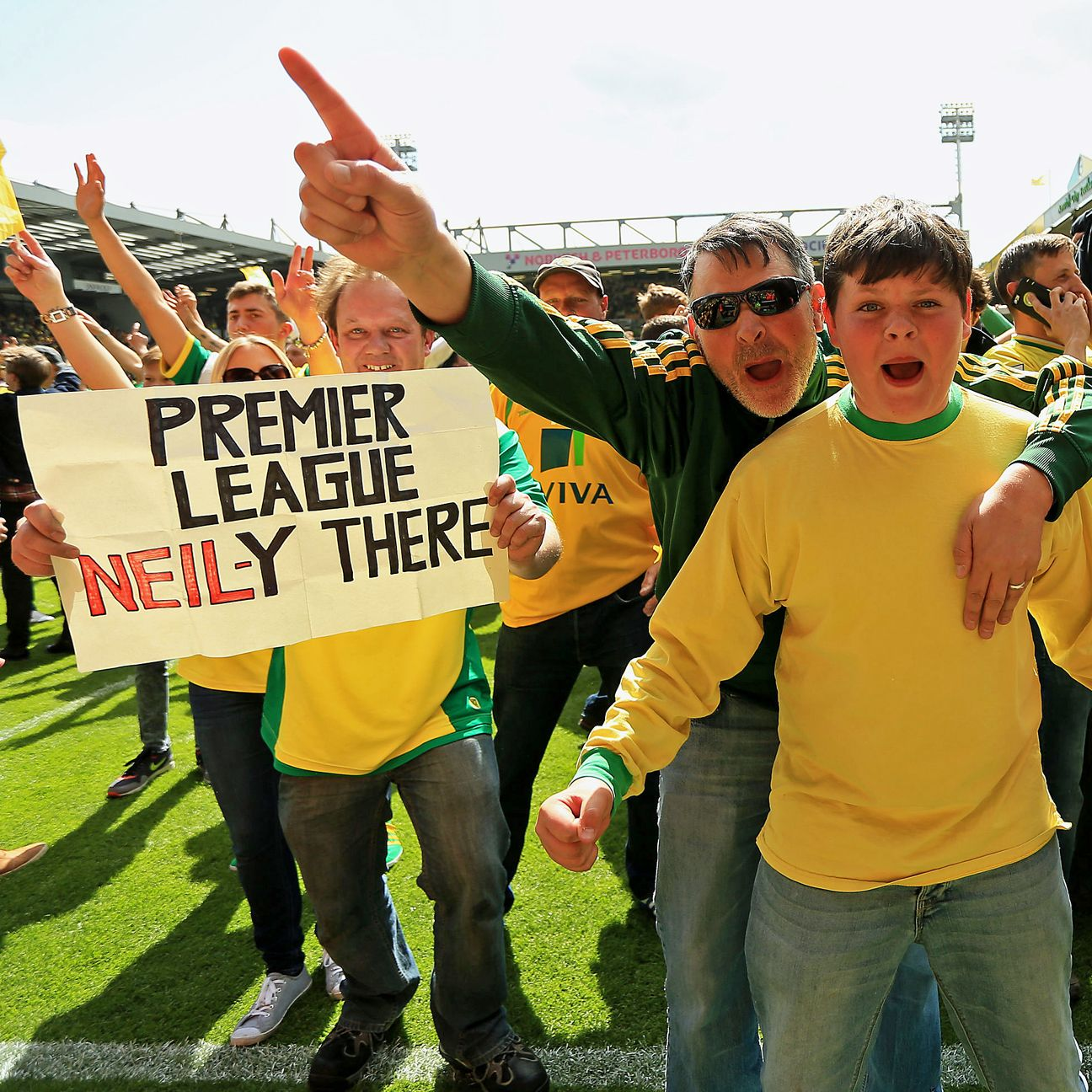 Norwich City fans will be hoping for a quick return to the riches of the Premier League with a playoff final win versus Middlesbrough.