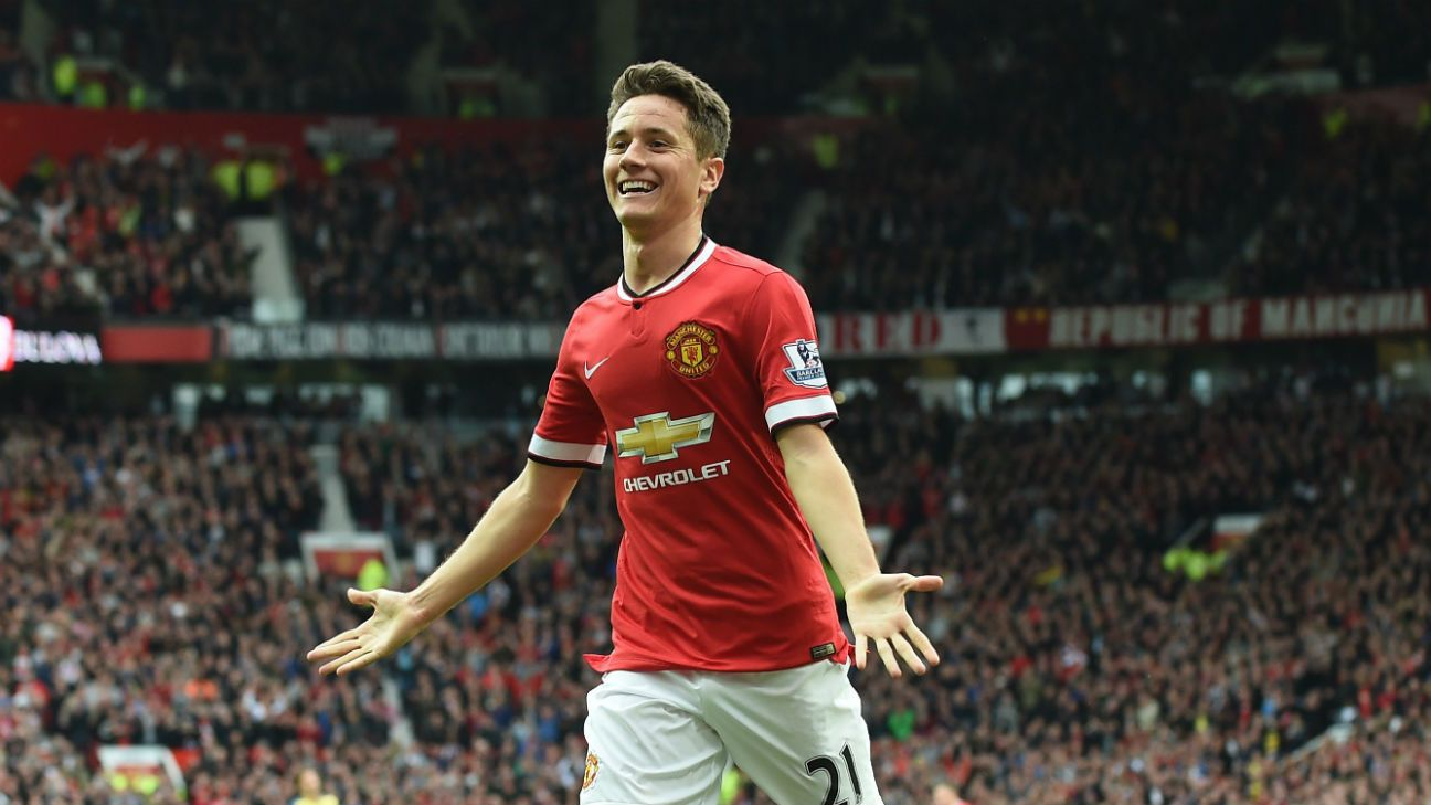 Ander Herrera scored his sixth Premier League goal of the season in Man United's 1-1 draw with Arsenal.