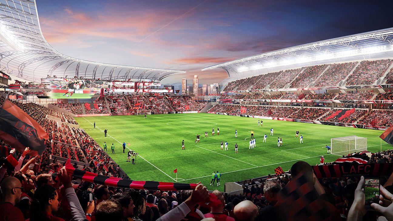 Mls Los Angeles Football Club Reveals Plans For Stadium