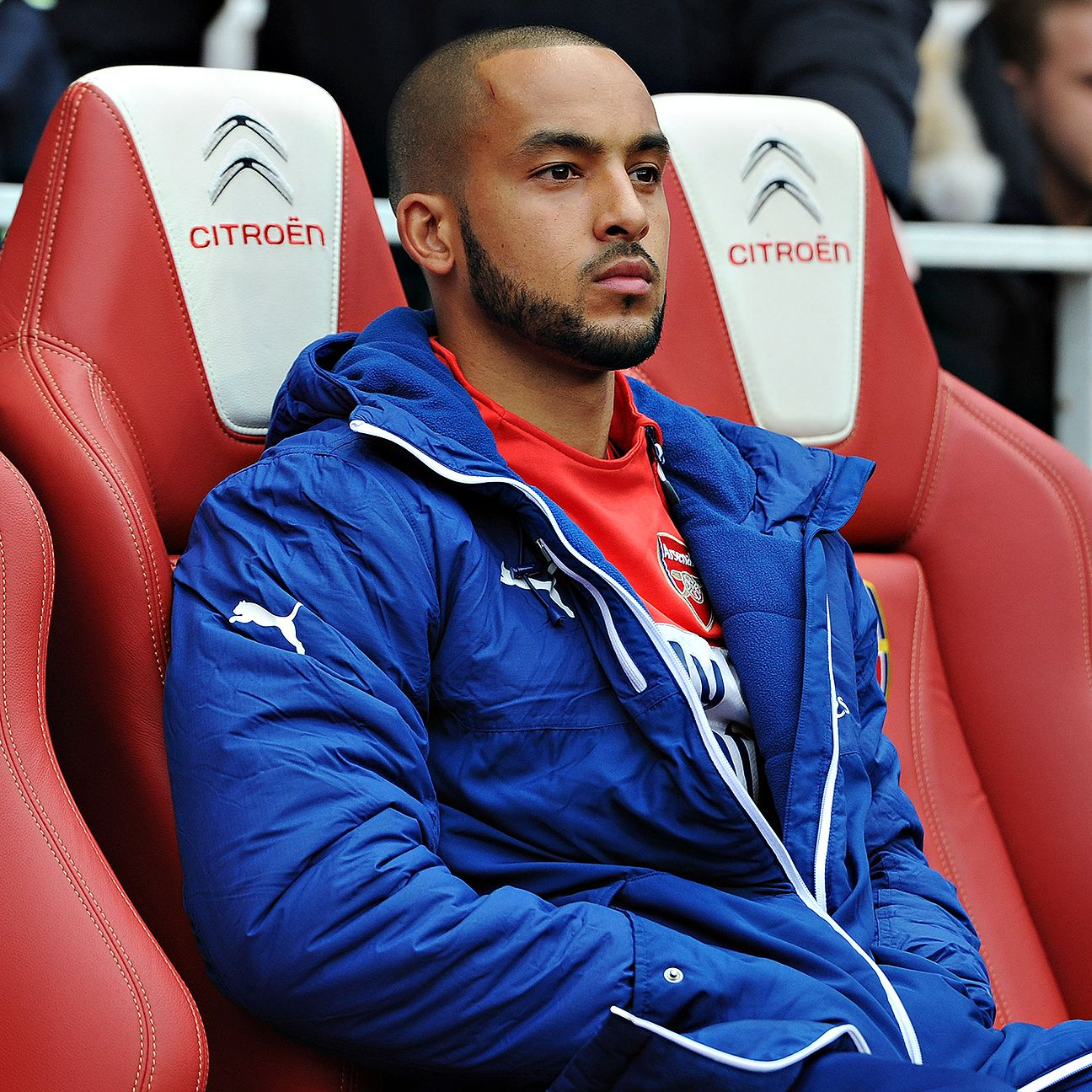 Rarely has Theo Walcott been able to escape his seat on the Arsenal bench since returning from injury last season.