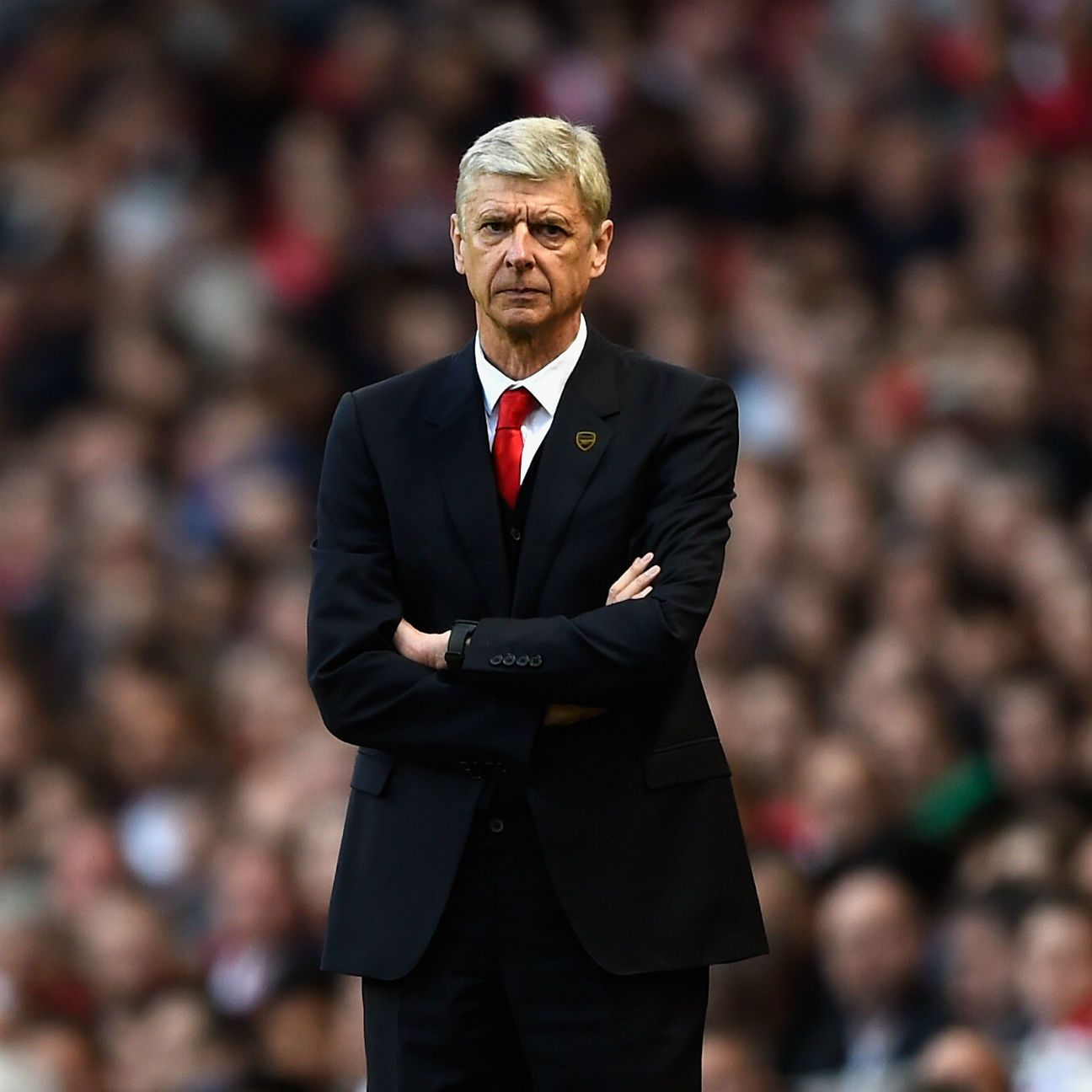 Arsene Wenger has been the picture of stability in nearly 20 years at Arsenal -- but also has his detractors.