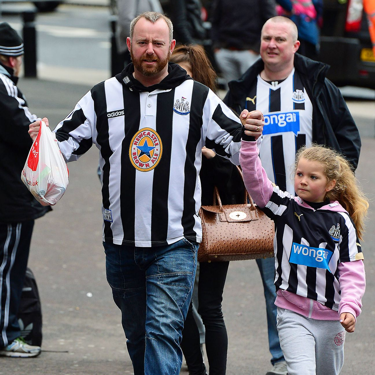Despite a season full of grim results, the Newcastle faithful have not wavered in their support.