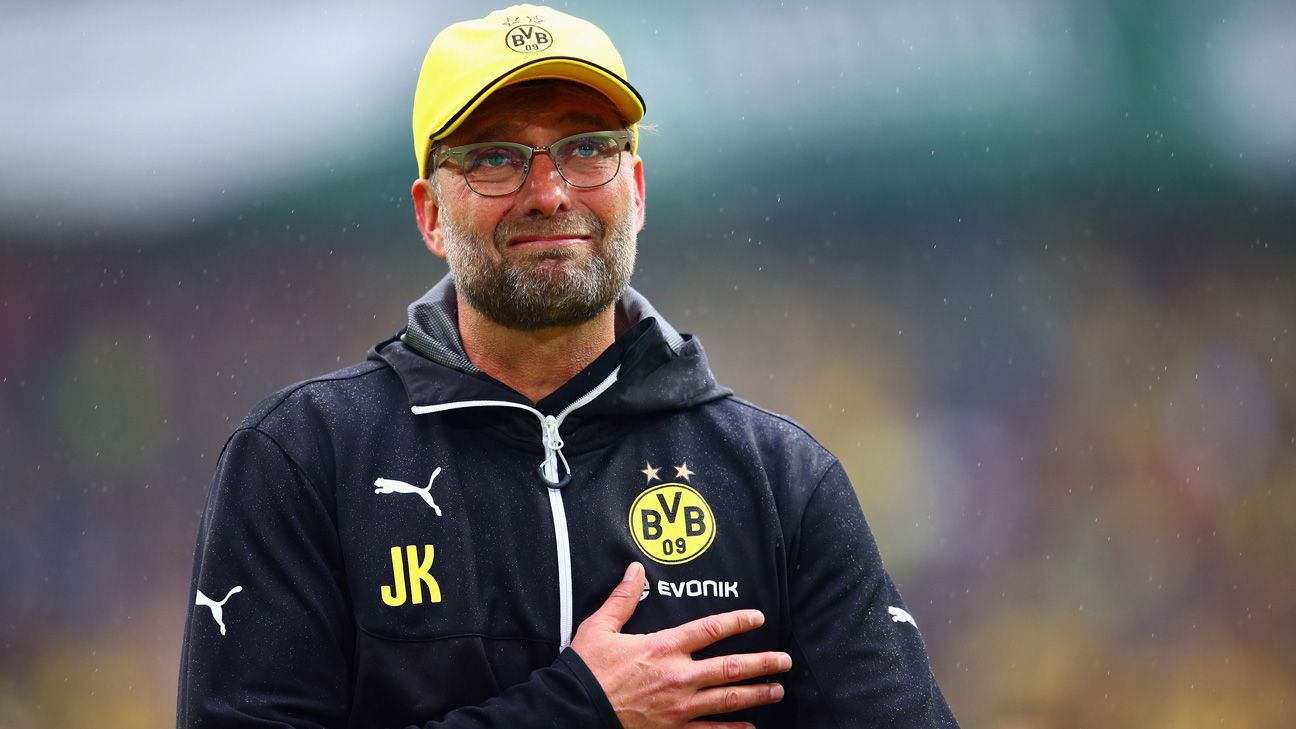 Jurgen Klopp tearful goodbye to Borussia Dortmund home