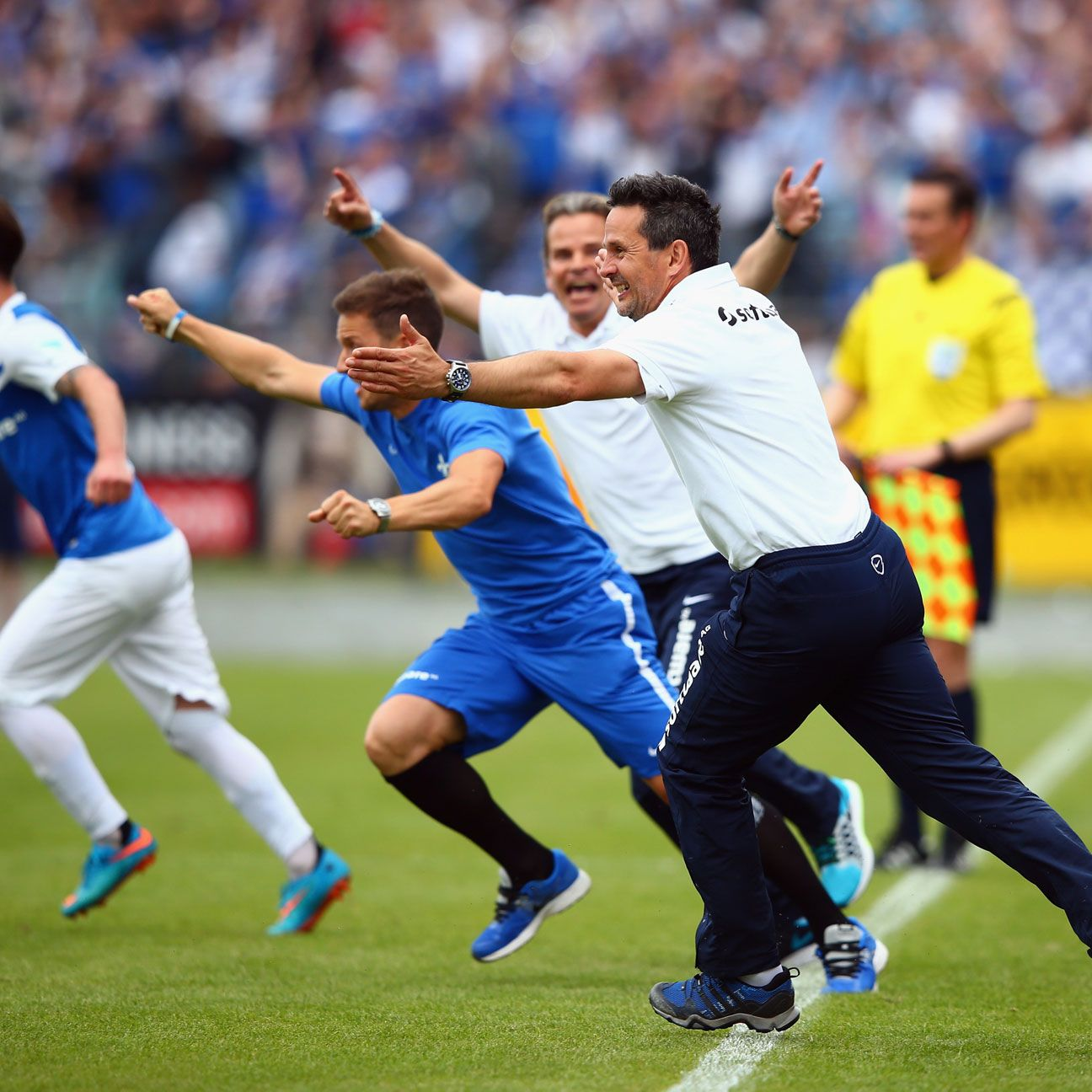 Darmstadt stunned experts and onlookers alike by achieving promotion to the Bundesliga.