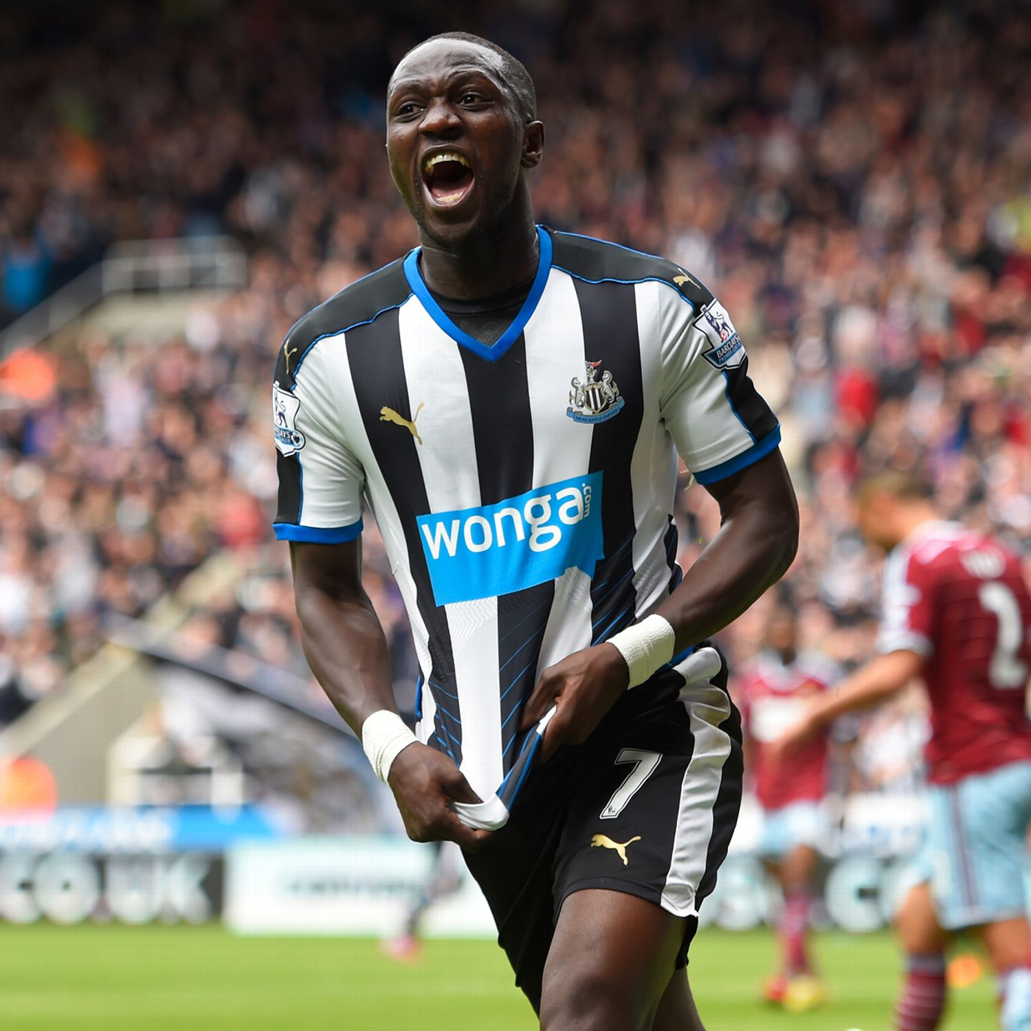 newcastle midfielder moussa sissoko flattered by real