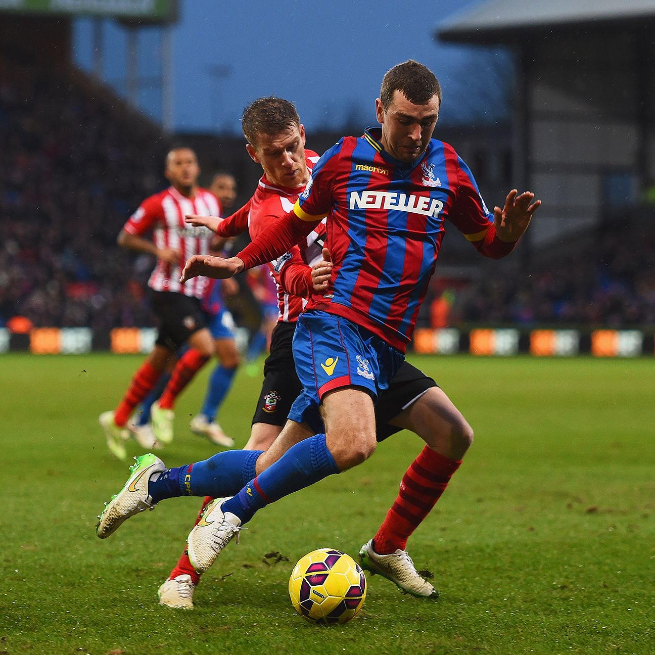 James McArthur helped spearhead Crystal Palace's second half surge up the table.