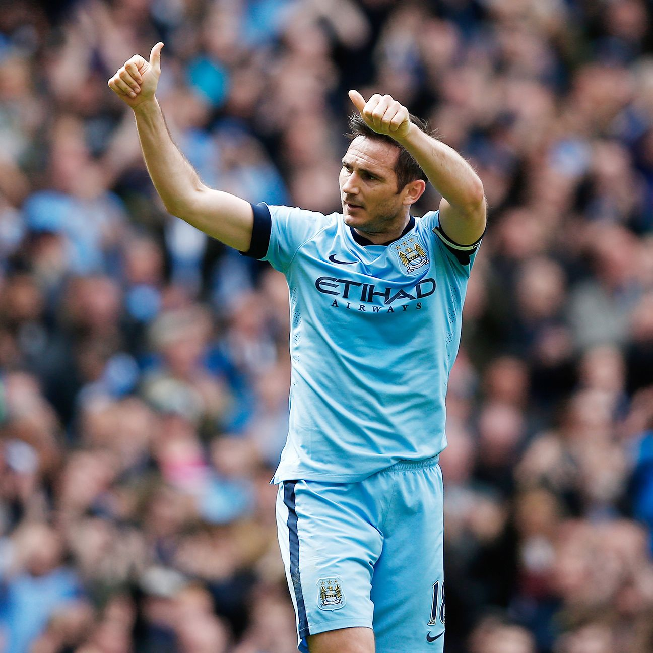 Frank Lampard scored his sixth Premier League goal of the season in City's 2-0 win.