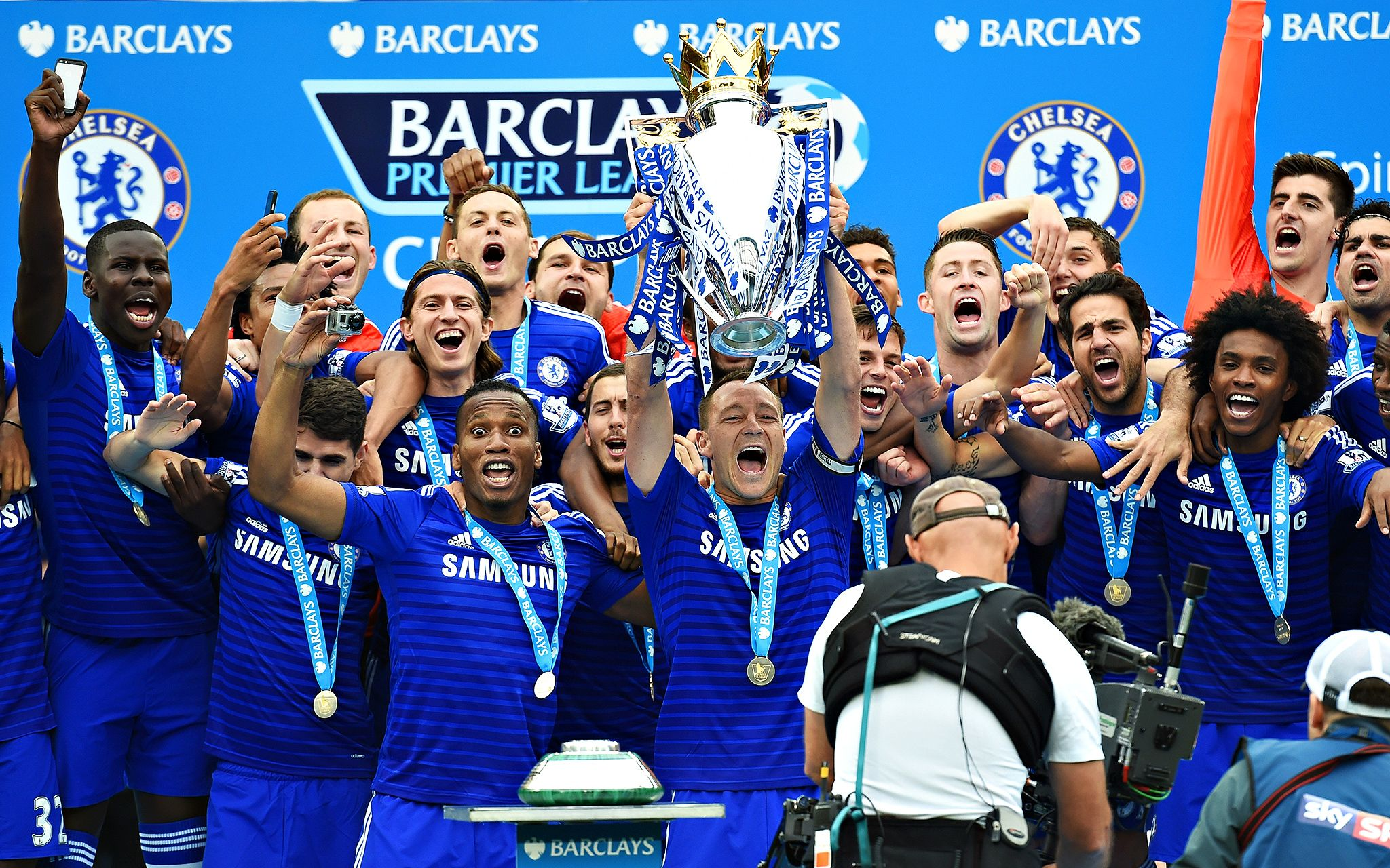 Chelsea finally lift the trophy