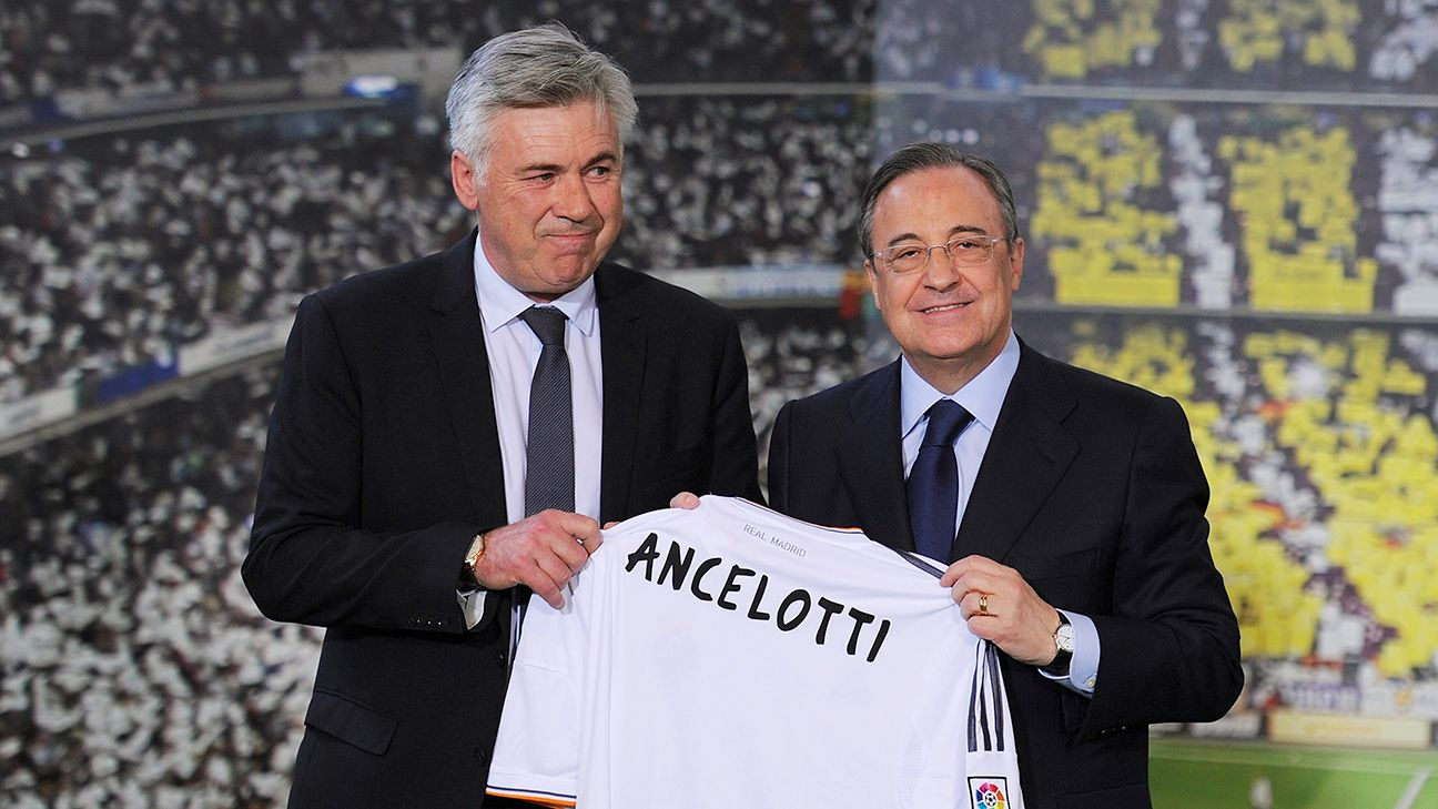 Ancelotti exit proves Florentino Perez is Real's best asset and worst enemy