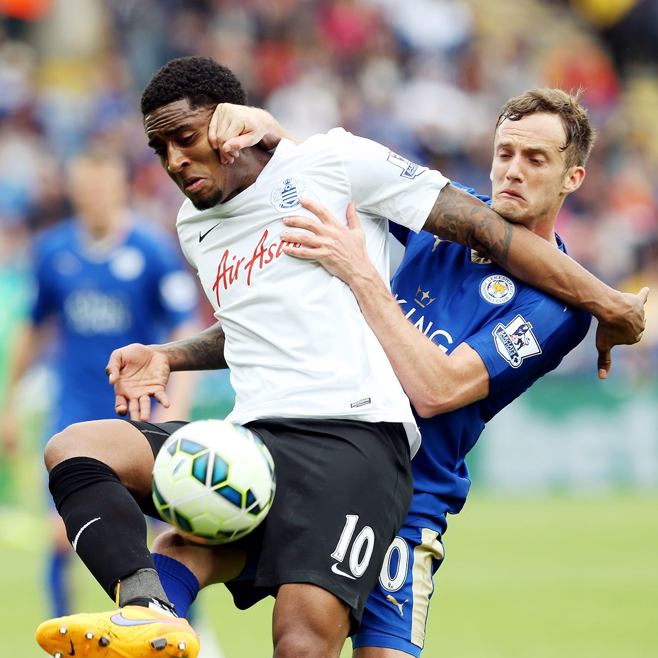 It remains to be seen if Leroy Fer will be with QPR next season in the Championship.