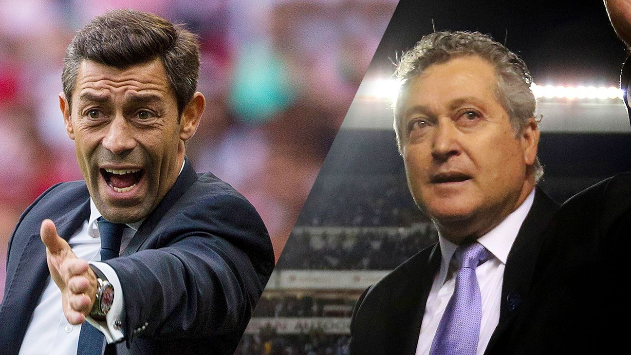 Santos' Pedro Caixinha and Queretaro's Victor Manuel Vucetich will match wits in the Liga MX final.