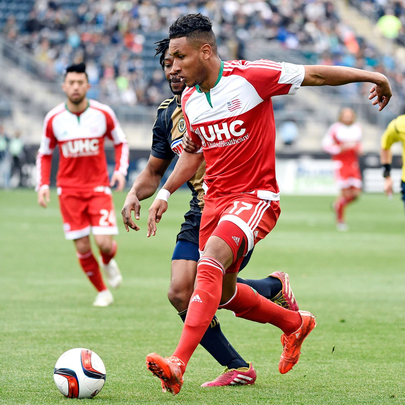 Juan Agudelo has two goals in his last three games with the New England Revolution.