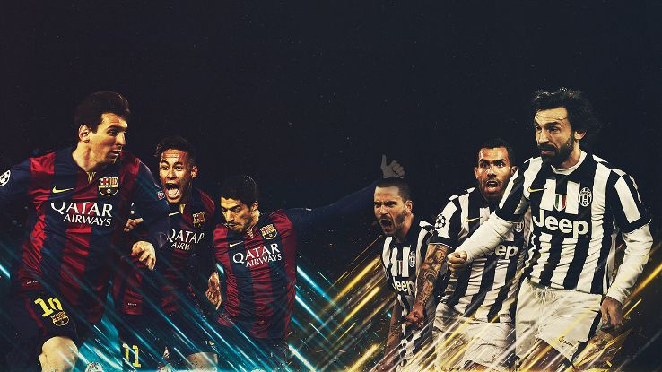 Juventus vs Barcelona June 6, 2015 game highlights