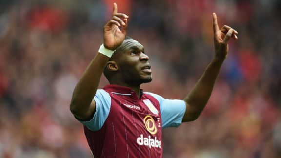 Aston Villa will need a big game out of Christian Benteke to upset Arsenal in the FA Cup final.