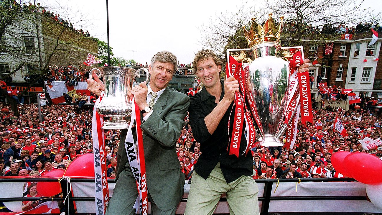 Arsene Wenger has won three league titles and seven FA Cups in 21-and-a-half years.