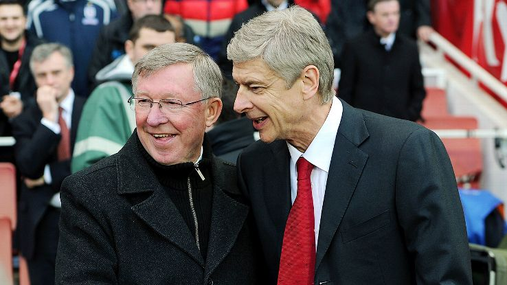 Sir Alex Ferguson and Arsene Wenger oversaw some classics between Man United and Arsenal.