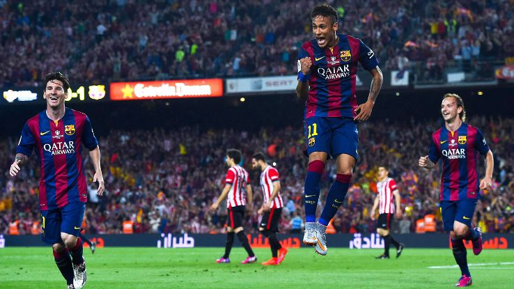 Barcelona will be out to win the club's second-ever treble with a victory in next Saturday's Champions League final.