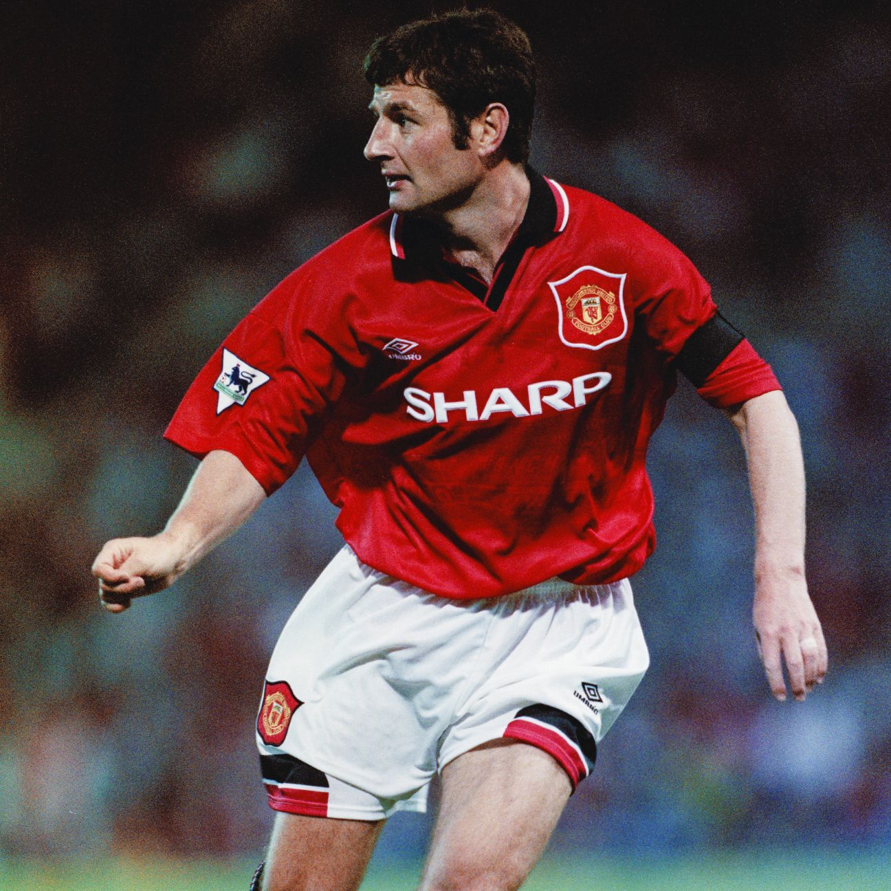 Denis Irwin spent 12 years at Manchester United before leaving in 2002.