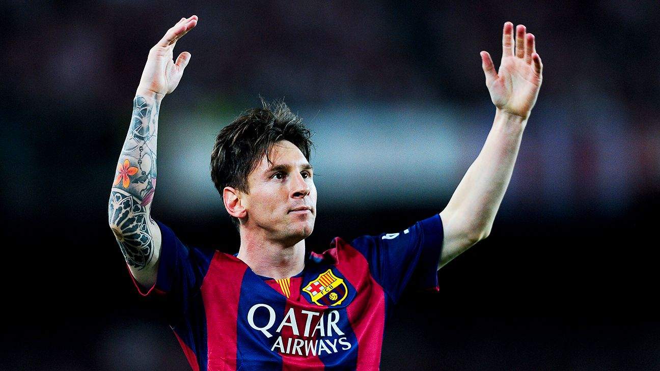 Lionel Messi assumed more of a leadership role in Barcelona's Treble campaign of 2014-15.