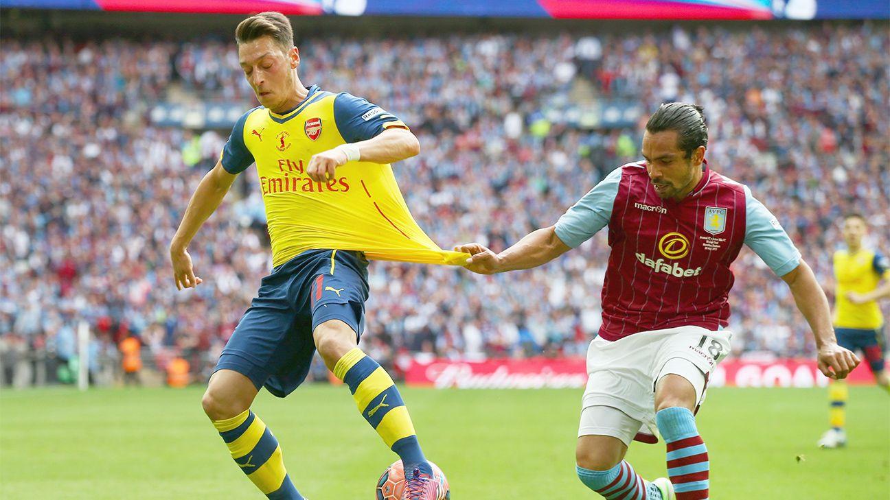 Arsenal midfielder Mesut Ozil led the league in chances created last season.