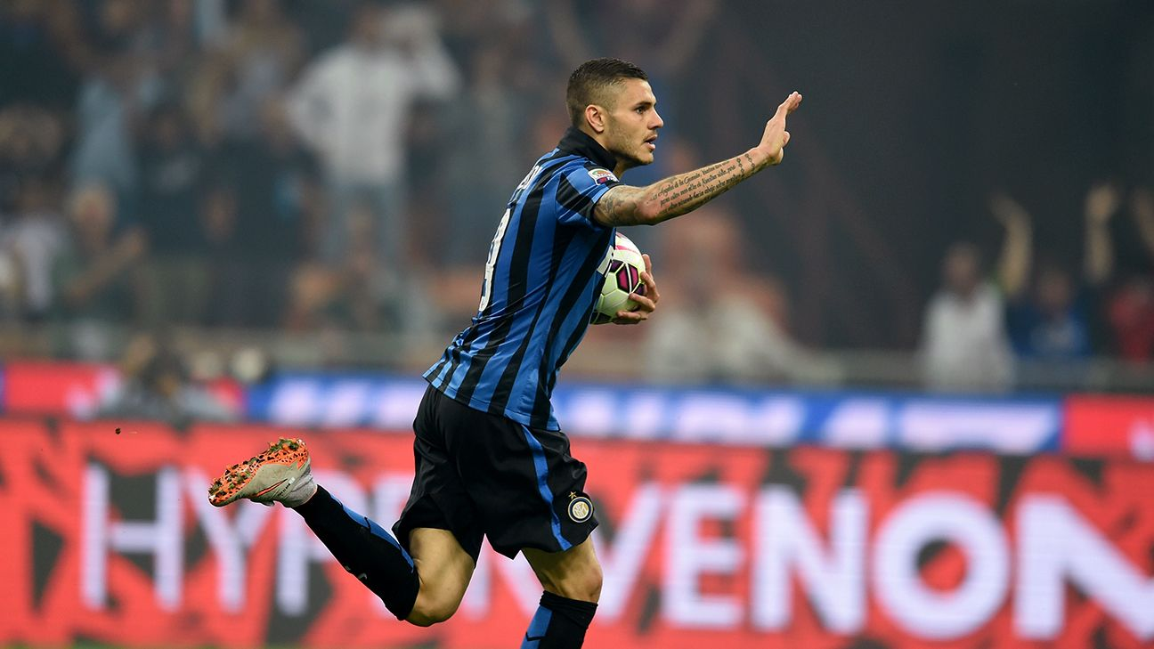 Mauro Icardi wrapped up his 2014-15 Serie A season with 22 goals.