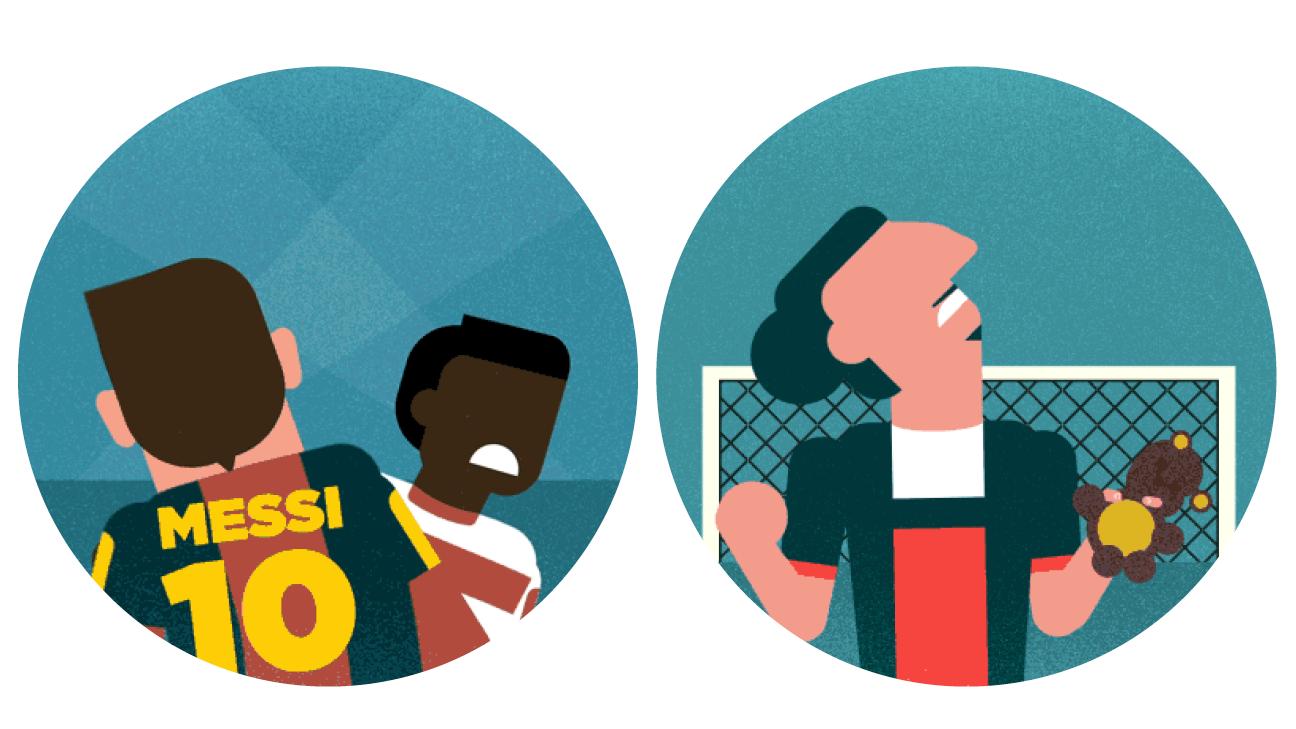UCL seventh heaven -- Messi, Ronaldo, Ibra, Suarez, Berba, Buffon and Bayern