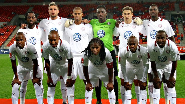 South African side Moroka Swallows, seen here in 2013, will not be playing in the country's Premier League next season after suffering relegation.