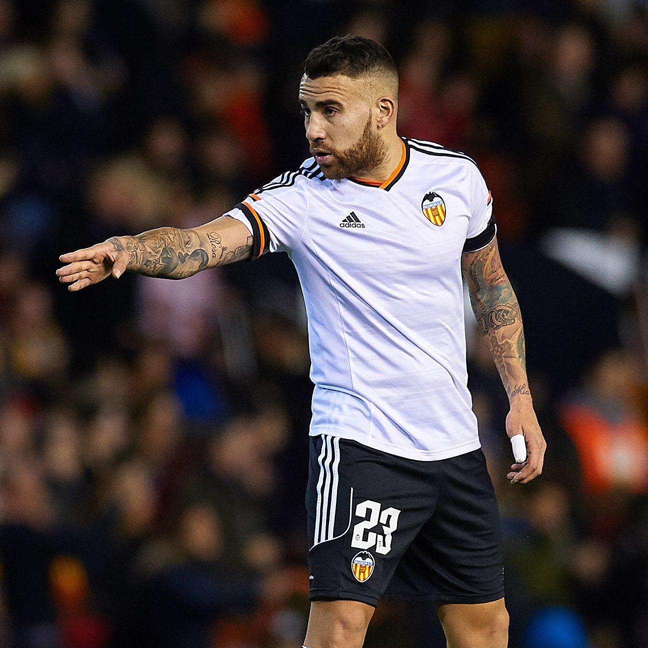 United target Argentine Nicolas Otamendi appeared in 35 La Liga matches for Valencia in 2014-15.