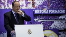 Benitez was visibly emotional in his first address as Real Madrid manager.