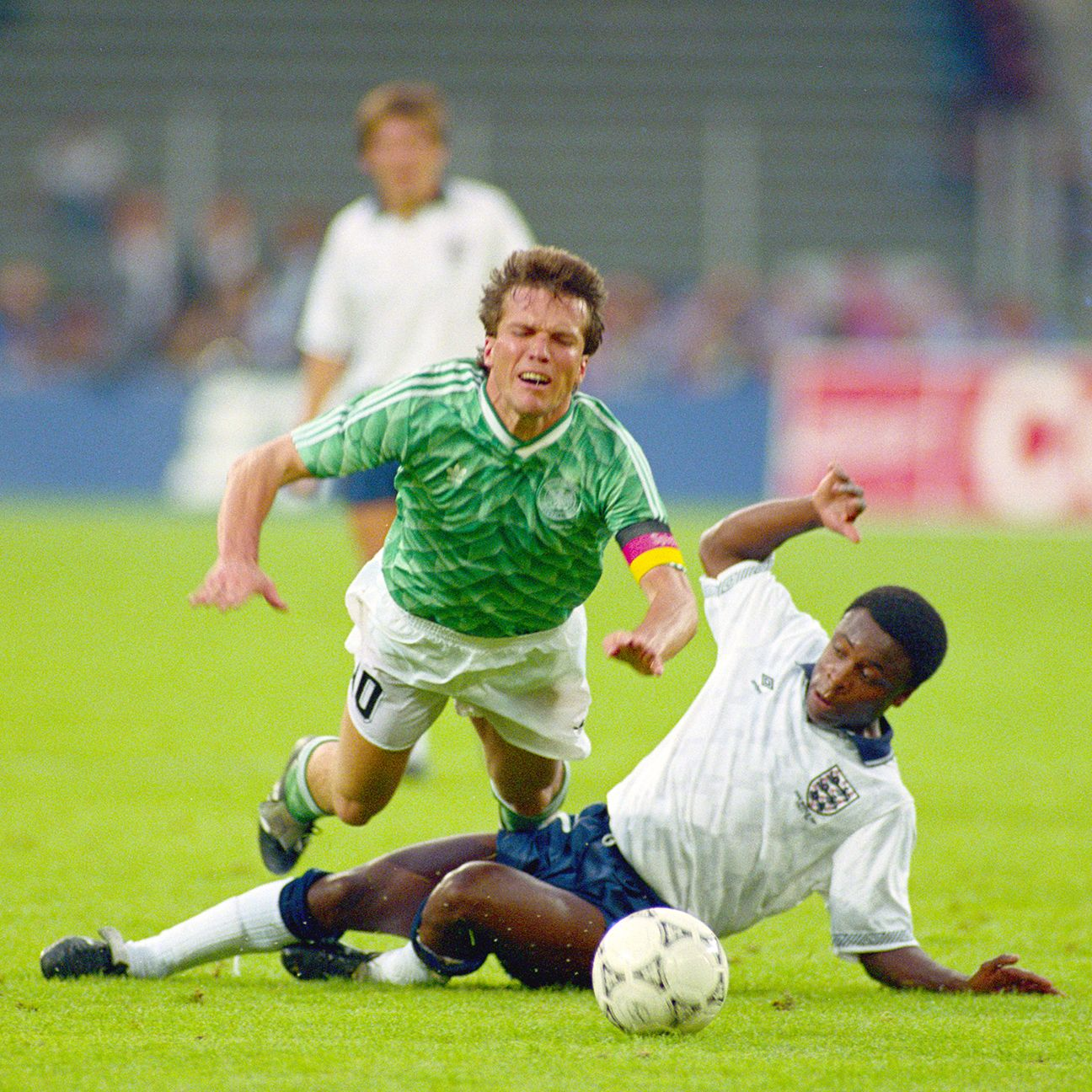 The author played an integral role in England's deep run at Italia '90.