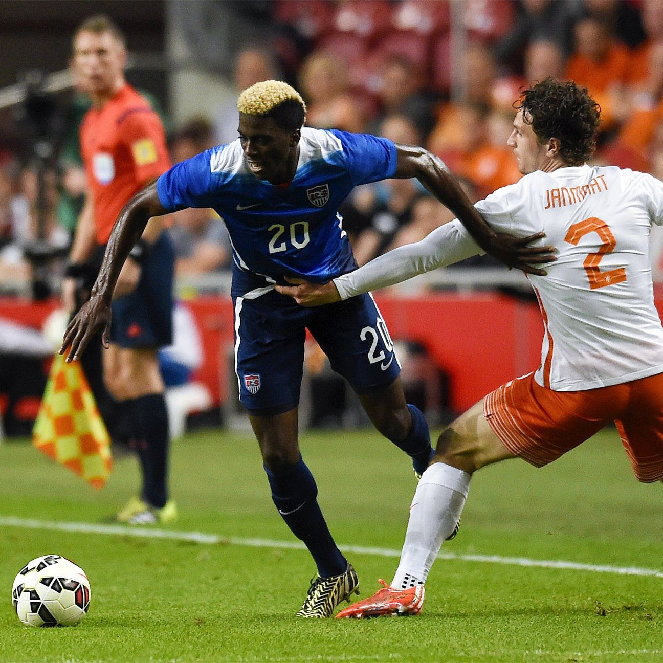 After scoring his first international goal versus the Netherlands, Gyasi Zardes now takes aim at Germany on Wednesday.